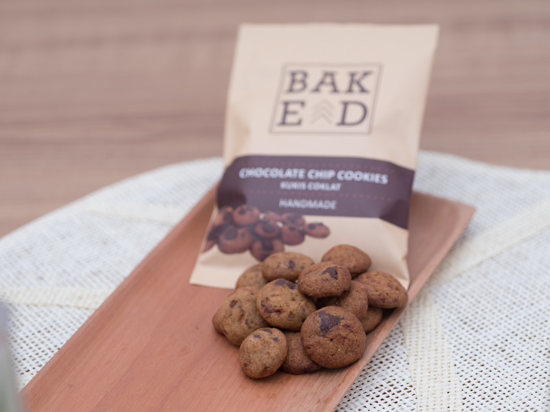 Chocolate chip cookies Baked ID (Isi 4 Pouch)