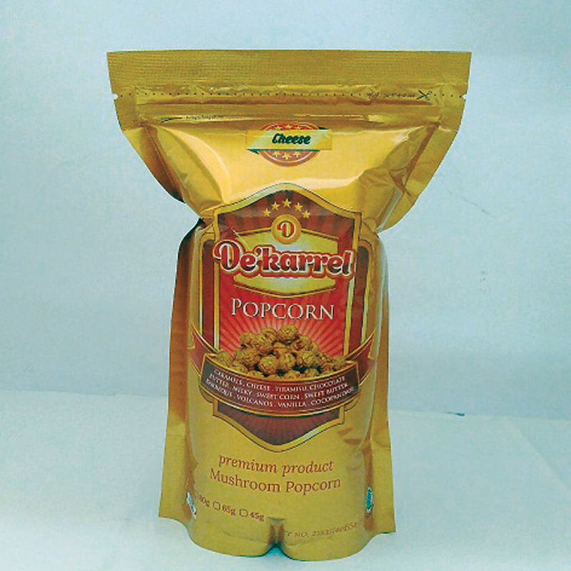 Dekarrel PopCorn Cheese Mush Aluminium Bag ( 2 Pack )