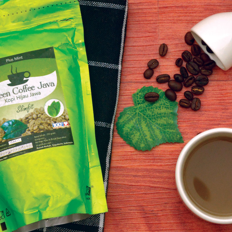 Green Coffee Java Mint 250 Gram