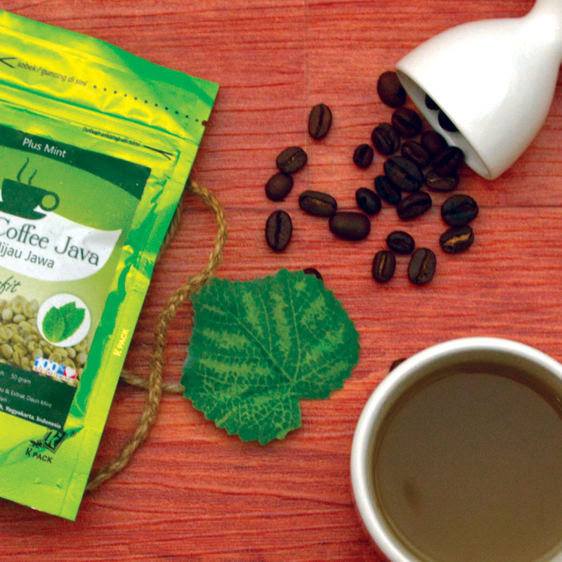 Green Coffee Java Mint 50 Gram ( 2 Pack )