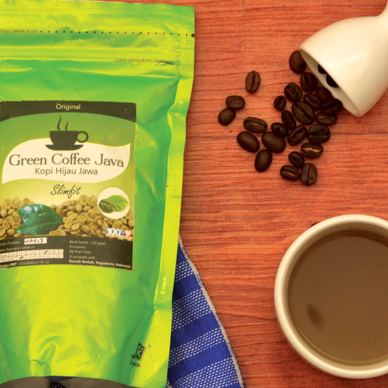 Green Coffee Java Ori 250 Gram