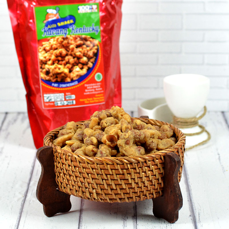 KACANG KENTUCKY (ISI 2 PACK @250GR)
