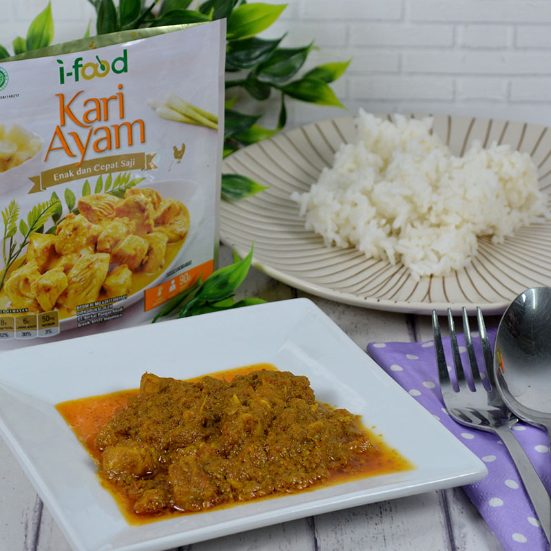 I-FOOD KARI AYAM (ISI 2 PACK)