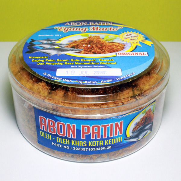 Abon Patin Toples Original (Isi 2)
