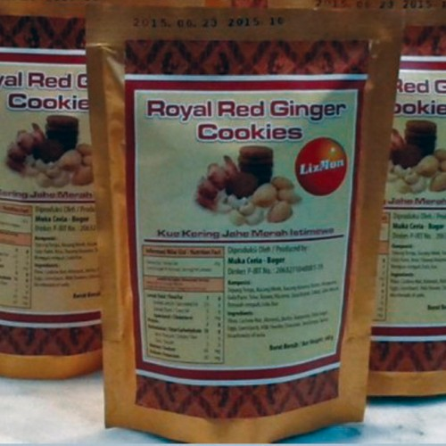 ROYAL RED GINGER COOKIES POUCH ISI 2