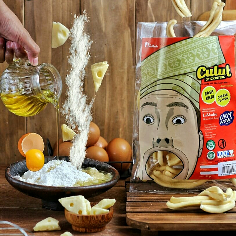 Culut Keju Ice Snack (Isi 3 bungkus)