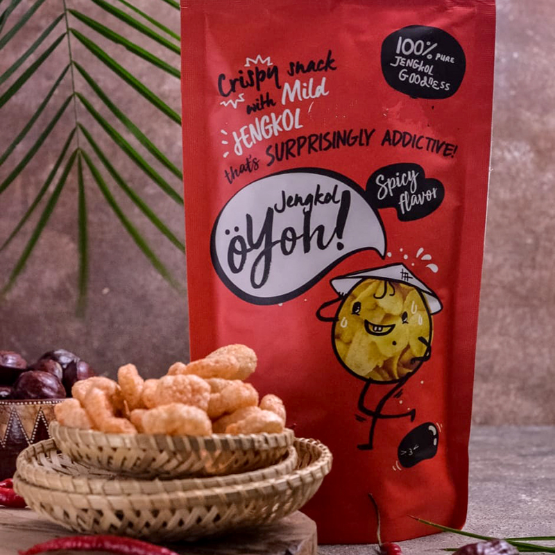 OYOH JENGKOL SPICY ISI 2 PACK @80GR