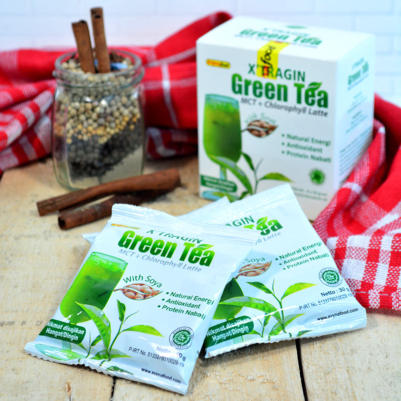 X'TRAGIN GREENTEA ISI 2 BOX