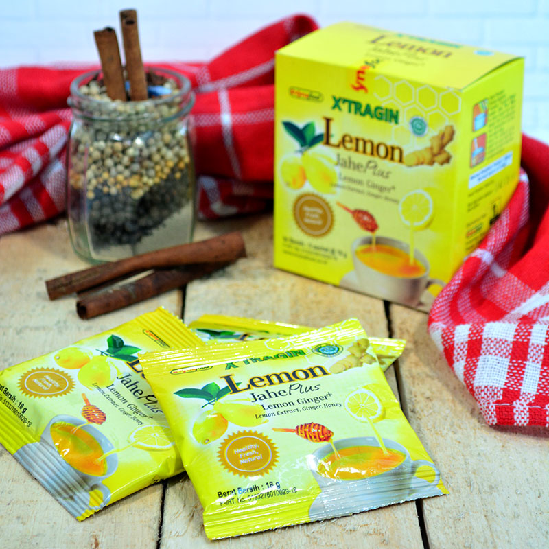 X'TRAGIN LEMON JAHE + MADU ISI 2 BOX
