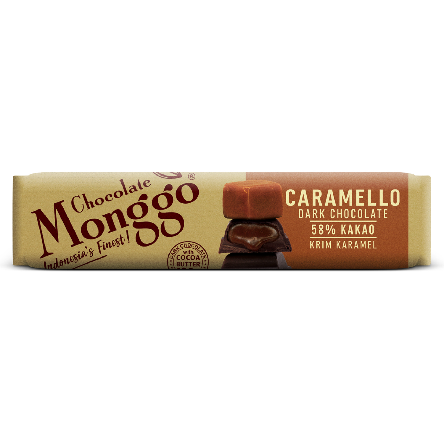 CHOCOLATE BAR WITH CARAMELLO