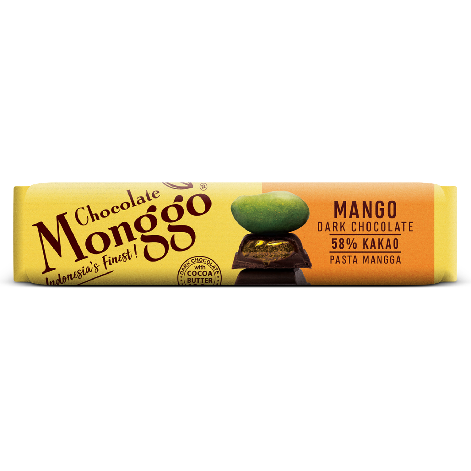 CHOCOLATE BAR WITH MANGO