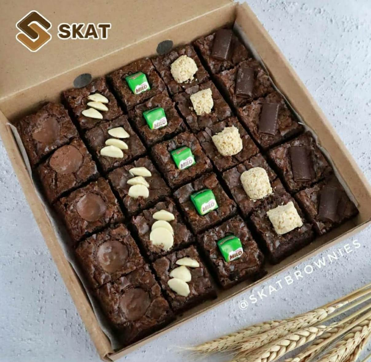 SKAT BROWNIES COFFEE