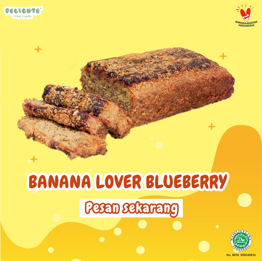 BANANA LOVER BLUEBERRY DELICUTE