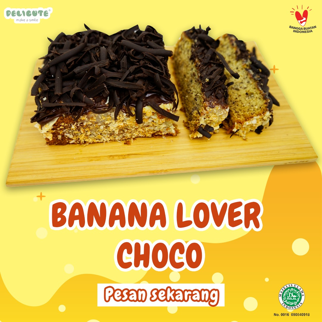 BANANA LOVER CHOCOLATE DELICUTE