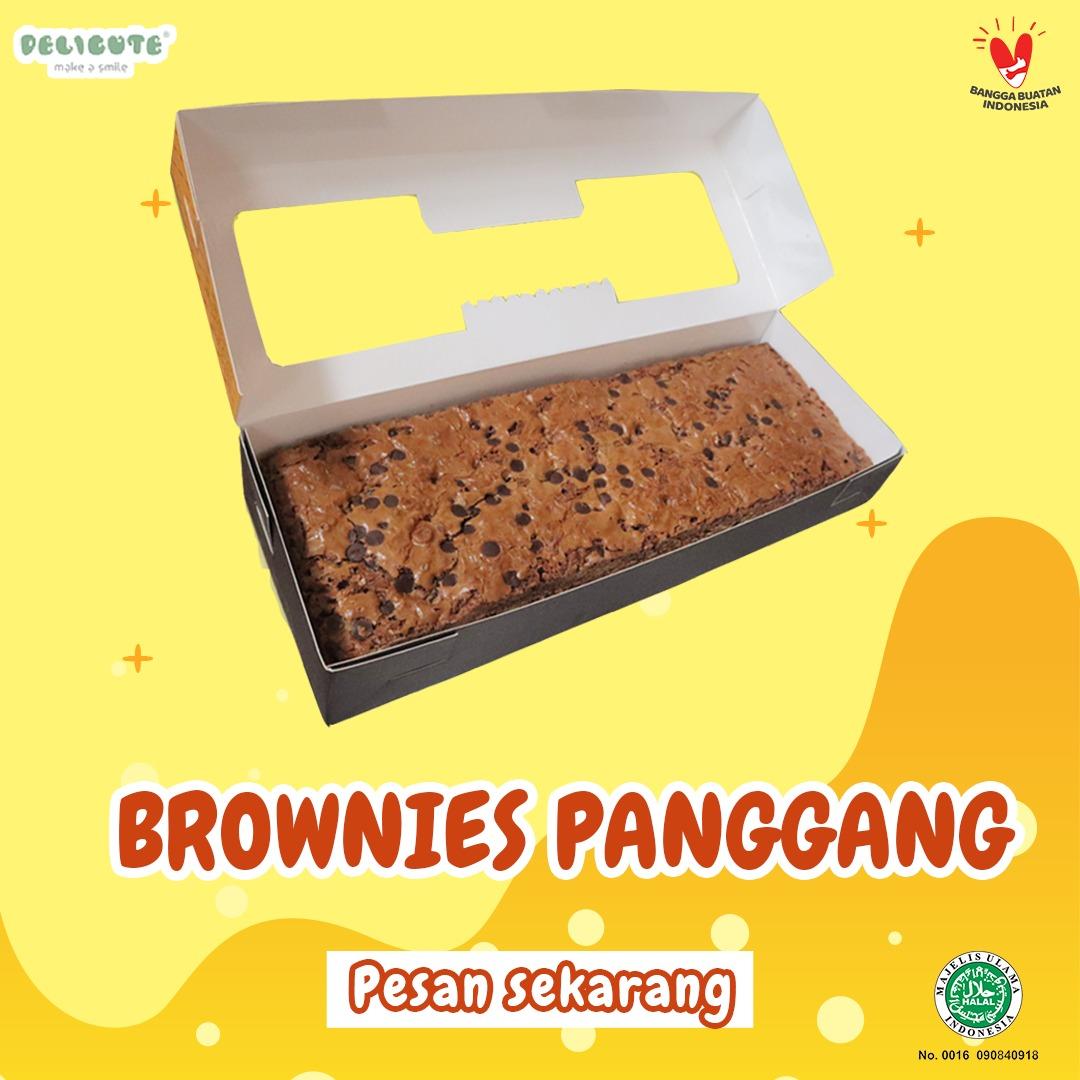 BROWNIES PANGGANG DELICUTE