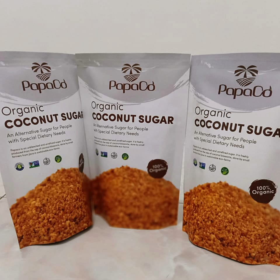 PAPACO ORGANIC COCONUT SUGAR