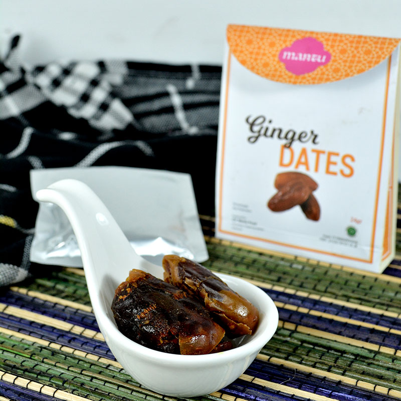 GINGER DATES ISI 2 PACK @75GR